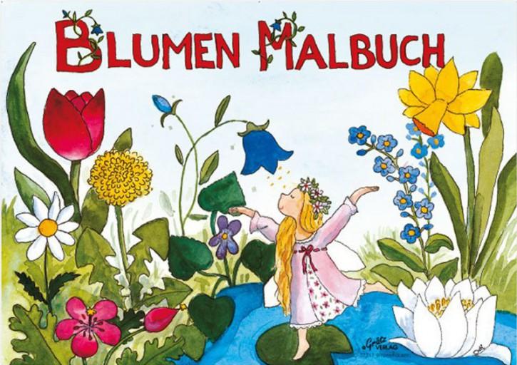 Grätz Verlag - Malbuch, Kindermalbuch - Blumen