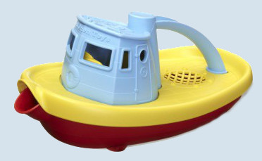 Green Toys - Tugboat - yellow - children's toys