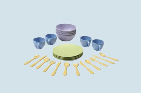 Green Toys - Spielset für Spielküche - Essgeschirr