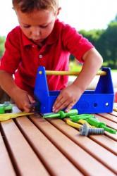 Green Toys - Werkzeug-Set, Werkzeugkasten - blau