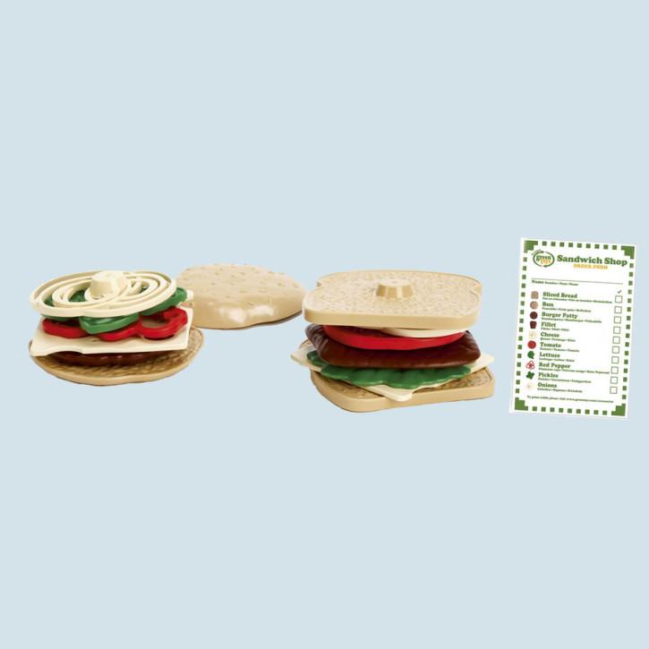 Green Toys - Spielset Sandwich - Burger