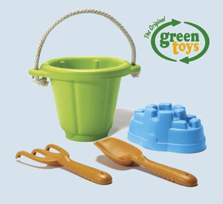 Green Toys - Spiel-Set für Sandkasten - grün, neu