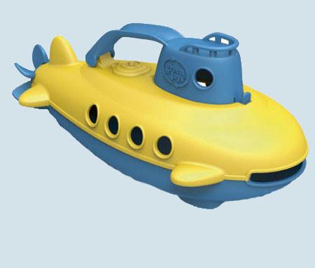 Green Toys - U-Boot - Submarine - blau, gelb