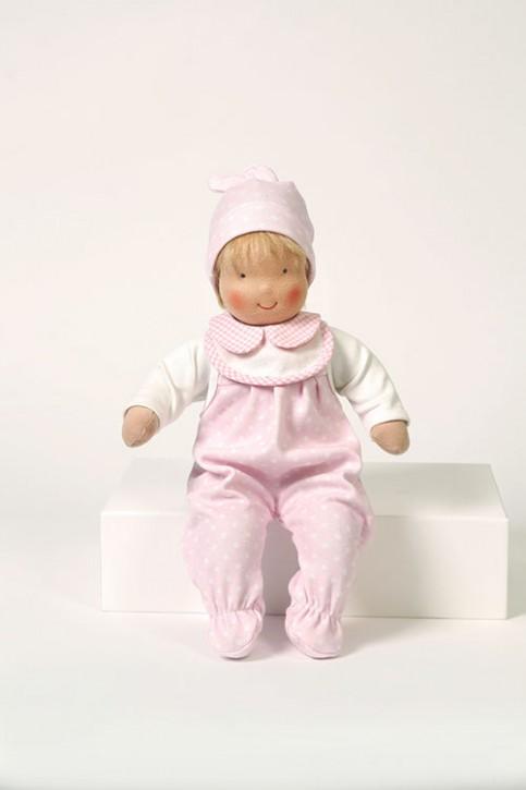 Heidi Hilscher Puppenkleidung - Set Strampler rosa - Bio