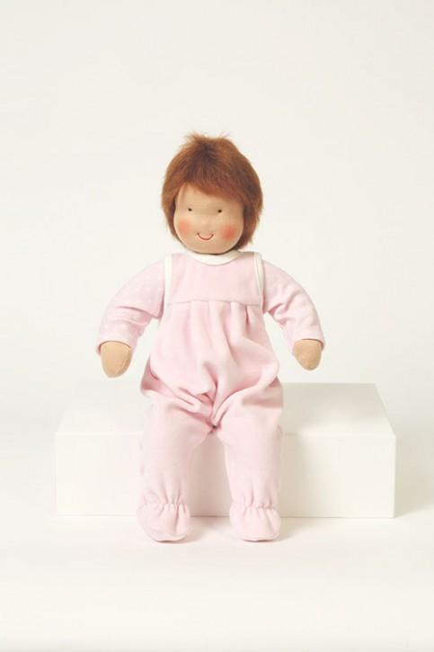 Heidi Hilscher -  organic baby doll - Struwwelchen - brown hair