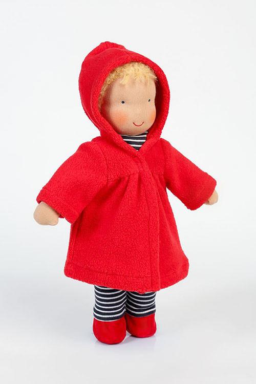 Heidi Hilscher - doll clothing - coat, organic cotton