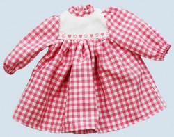 Heidi Hilscher - Puppenkleidung - Kleid Herzchen - Bio Qualität