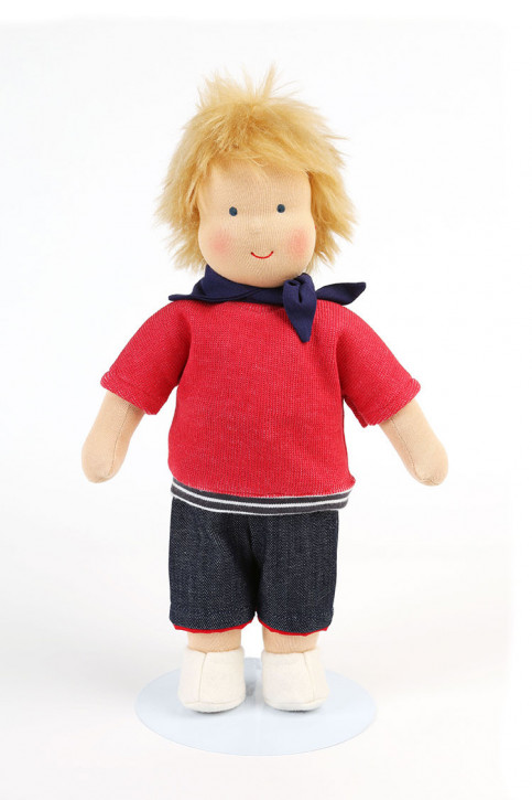 Heidi Hilscher organic doll - Julius - blond hair, eco
