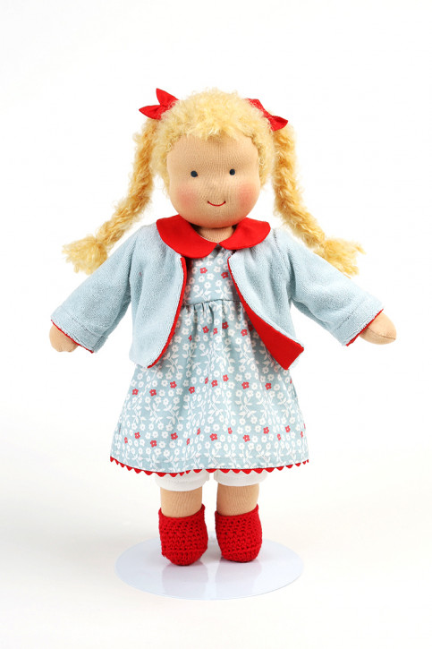 Heidi Hilscher - Puppenkleidung - Set Charlotte - Bio Qualität