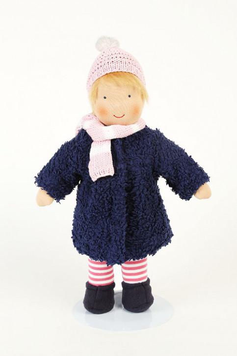 Heidi Hilscher Puppenkleidung - Set Winter rosa - Bio