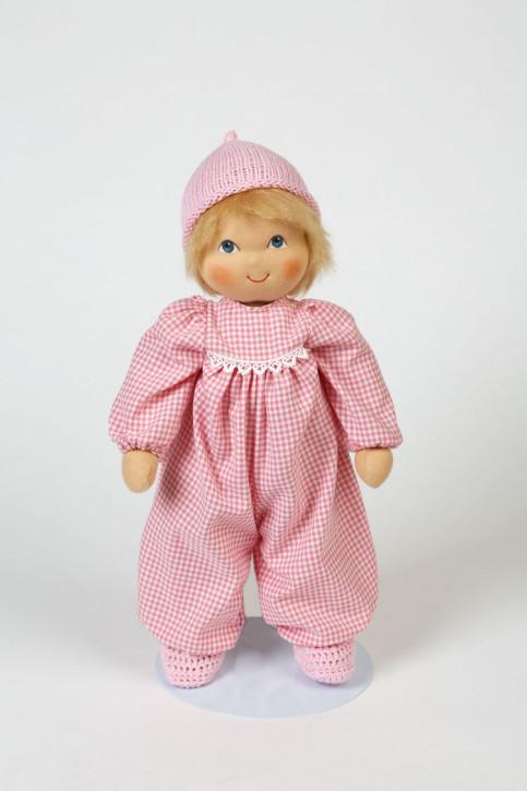Heidi Hilscher Puppe - Bio Puppenbaby Nanna - blonde Haare