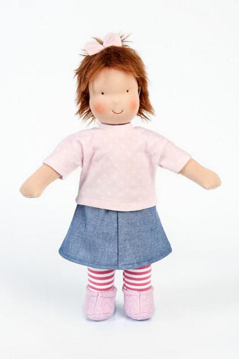 Heidi Hilscher organic doll Emma - brown hair, eco