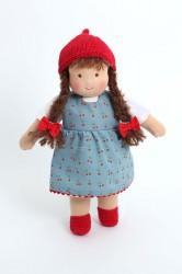 Heidi Hilscher - Puppenkleidung - Kleid Klara - Bio Qualität