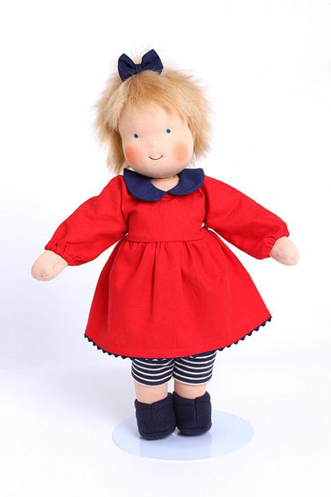 Heidi Hilscher organic doll - Dida blue - blond hair, eco