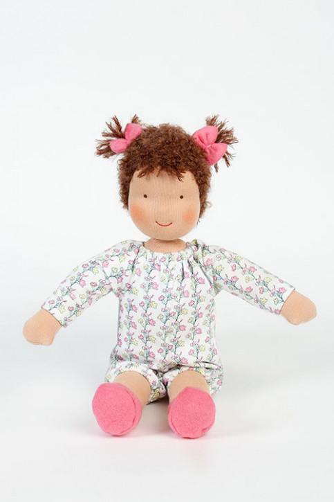 Heidi Hilscher Puppe - Bio Schlenkerpuppe Maja - brünett