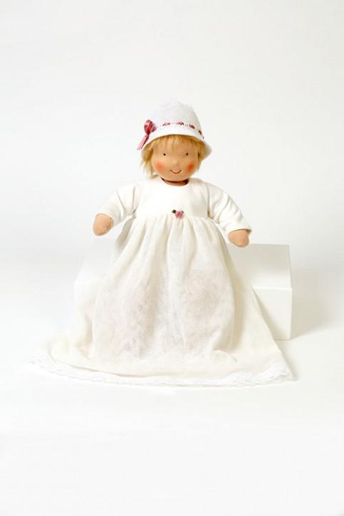 Heidi Hilscher Puppenkleidung - Taufkleid - Bio