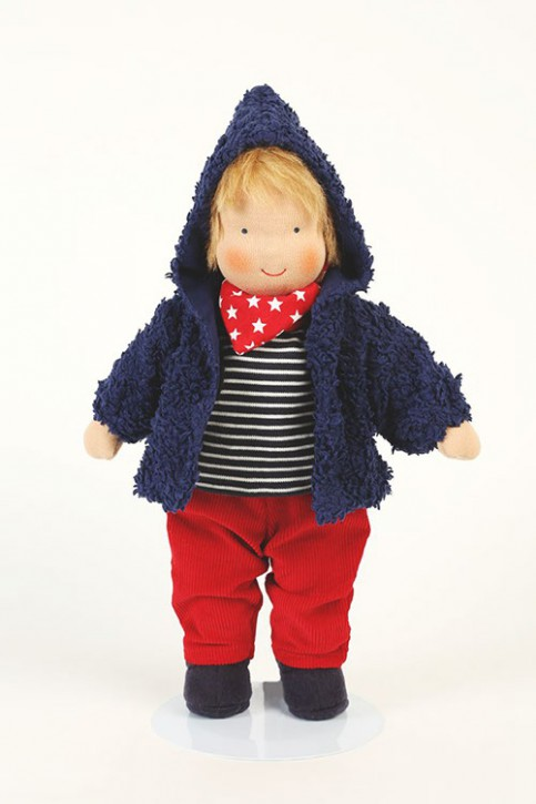 Heidi Hilscher organic doll - Leo - blond hair, eco