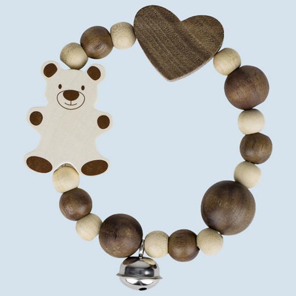 Heimess nature - touch ring elastic - bear