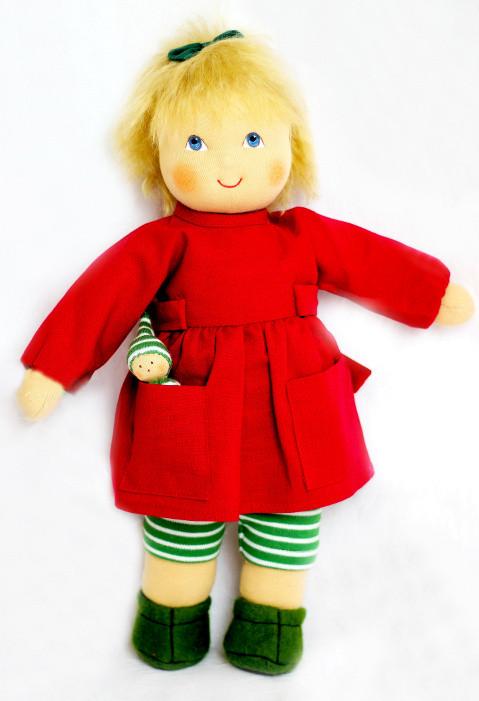 Heidi Hilscher - Puppenkleidung - Kleid Dida - Bio Qualität