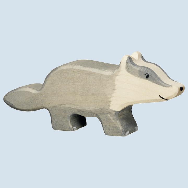 Holztiger - wooden animal - badger