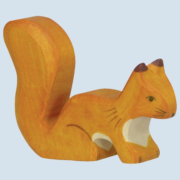 Holztiger - wooden animal - squirrel, standing