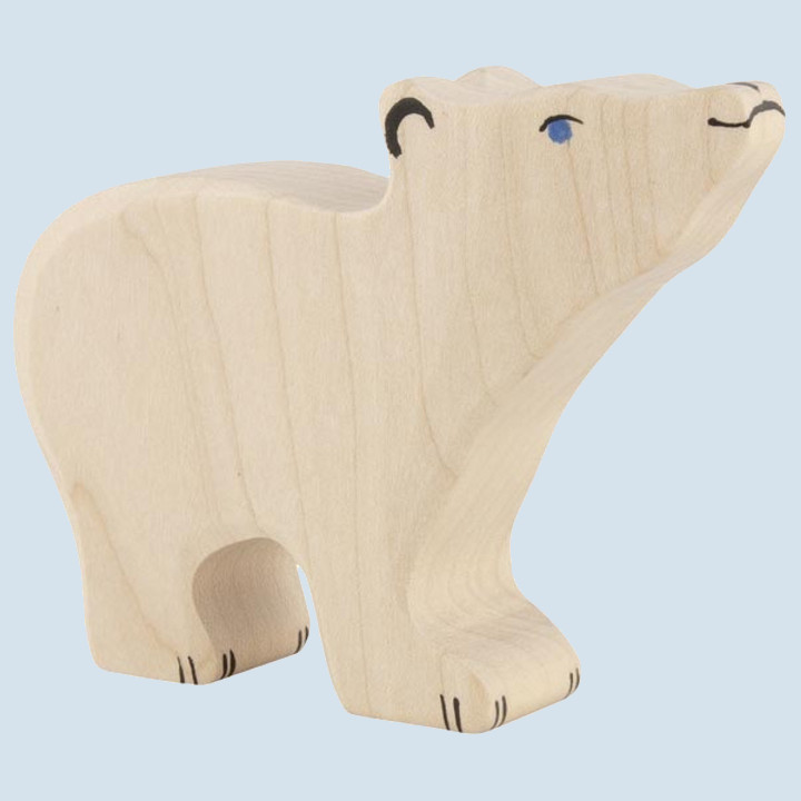 Holztiger - Holztier Eisbär