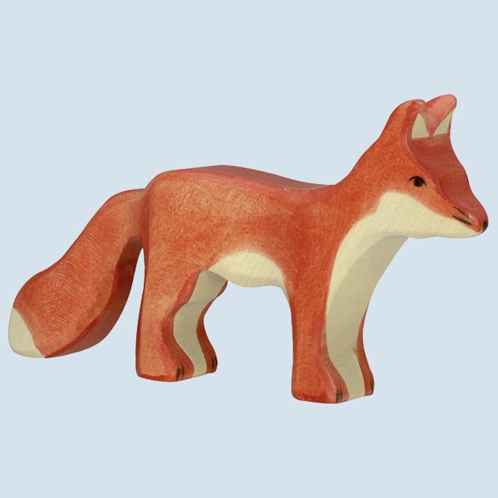 Holztiger - wooden animal - fox