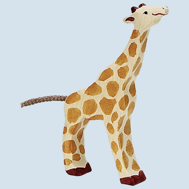 Holztiger - wooden animal - giraffe, small