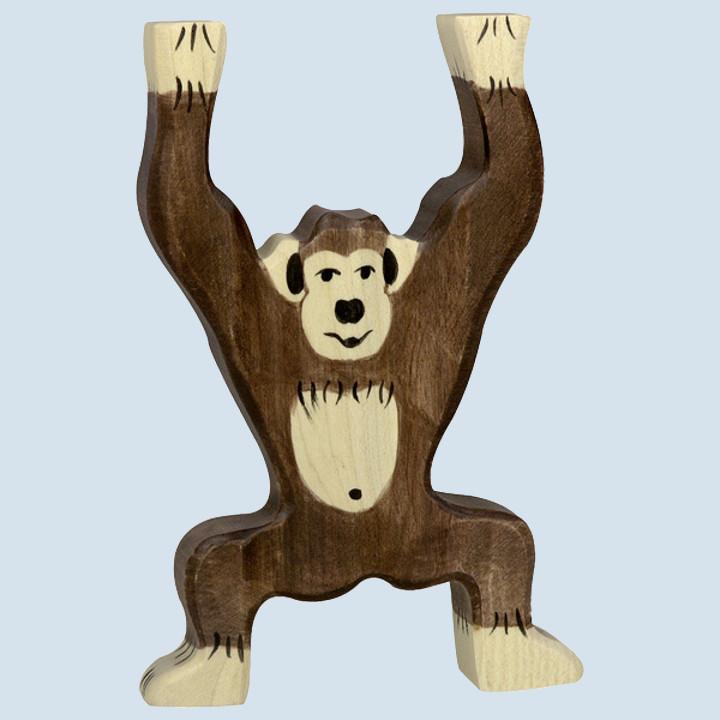 Holztiger -  Holzfigur Schimpanse