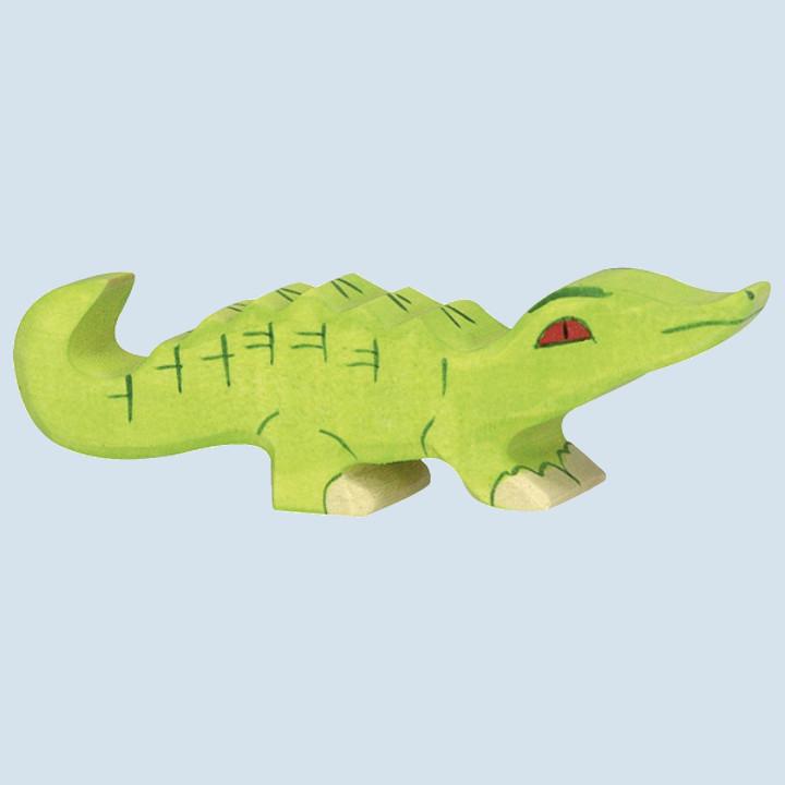 Holztiger - Holztier Krokodil, klein