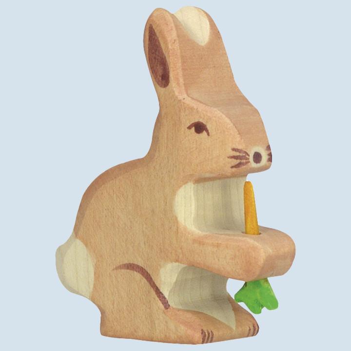 Holztiger - Holztier Hase - Karotte