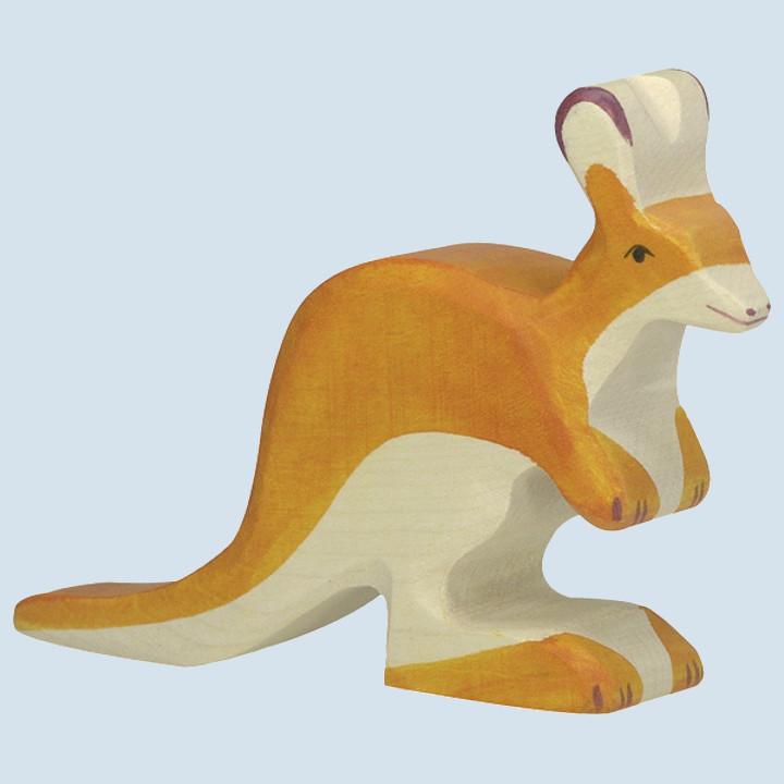 Holztiger - wooden animal - kangaroo, small