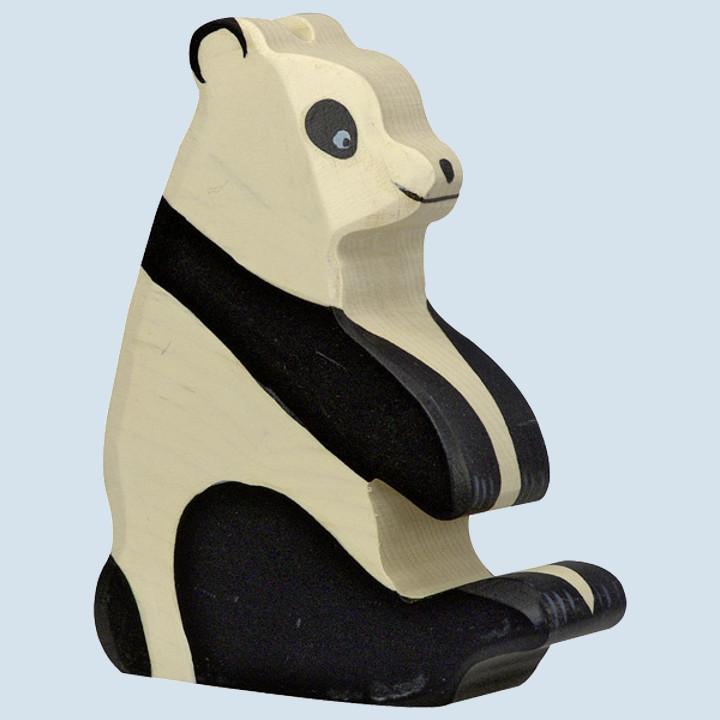 Holztiger - wooden animal - panda bear