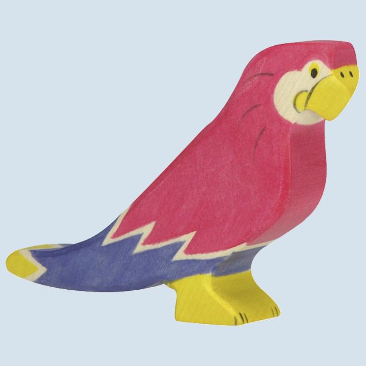 Holztiger - Holztier Papagei