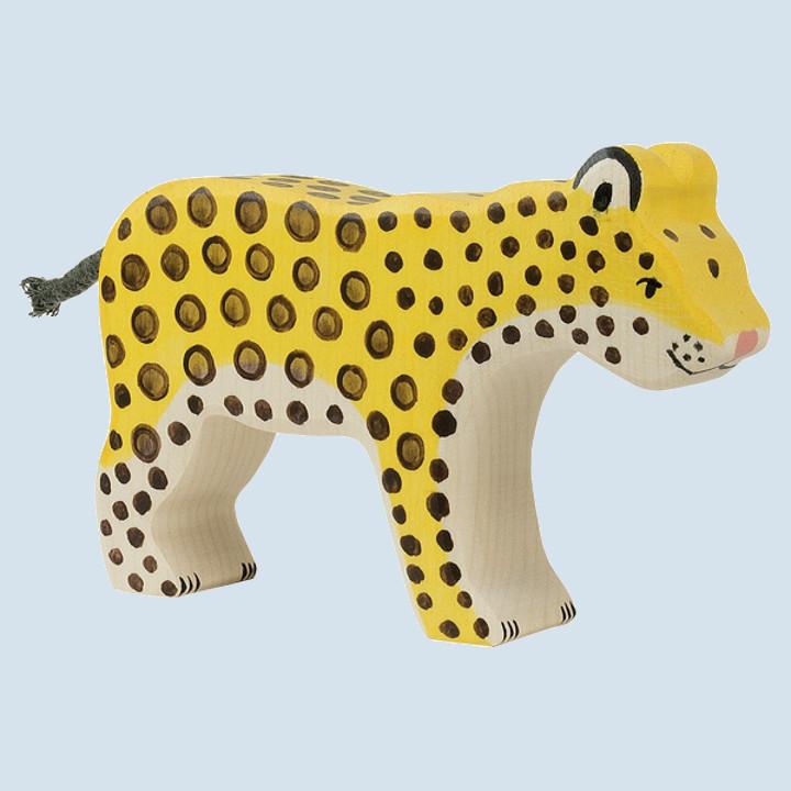 Holztiger - wooden animal - leopard