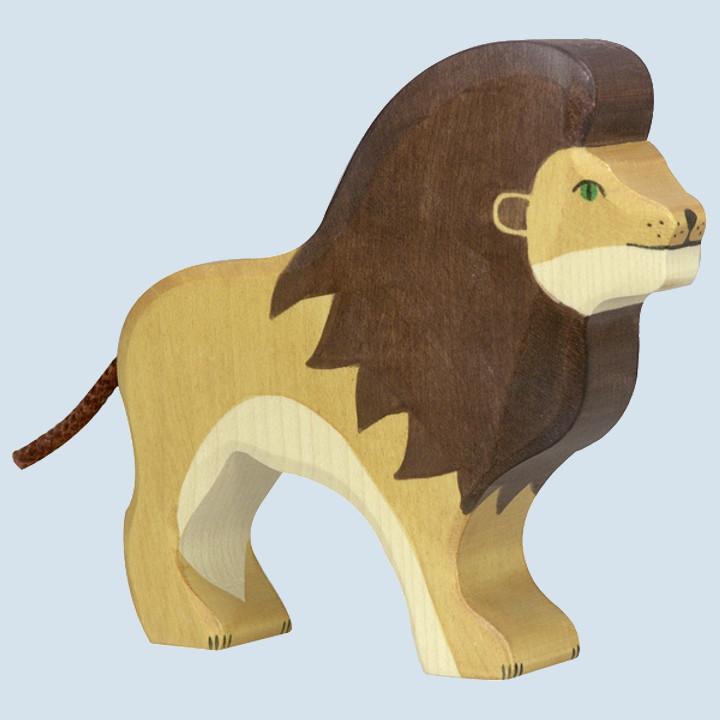 Holztiger - wooden animal - lion