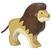 Holztiger - Holztier Löwe, Holzfigur
