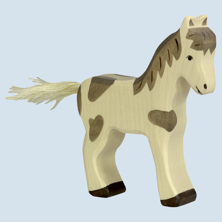 Holztiger - wooden animal - foal