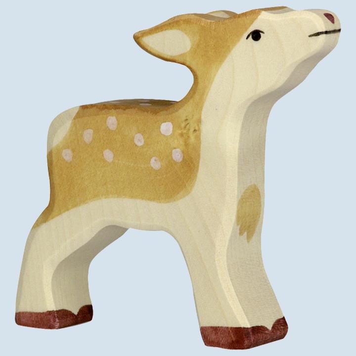 Holztiger - wooden animal - fawn