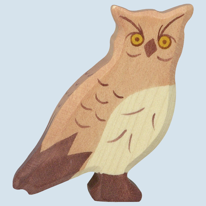 Holztiger - wooden animal - eagle owl