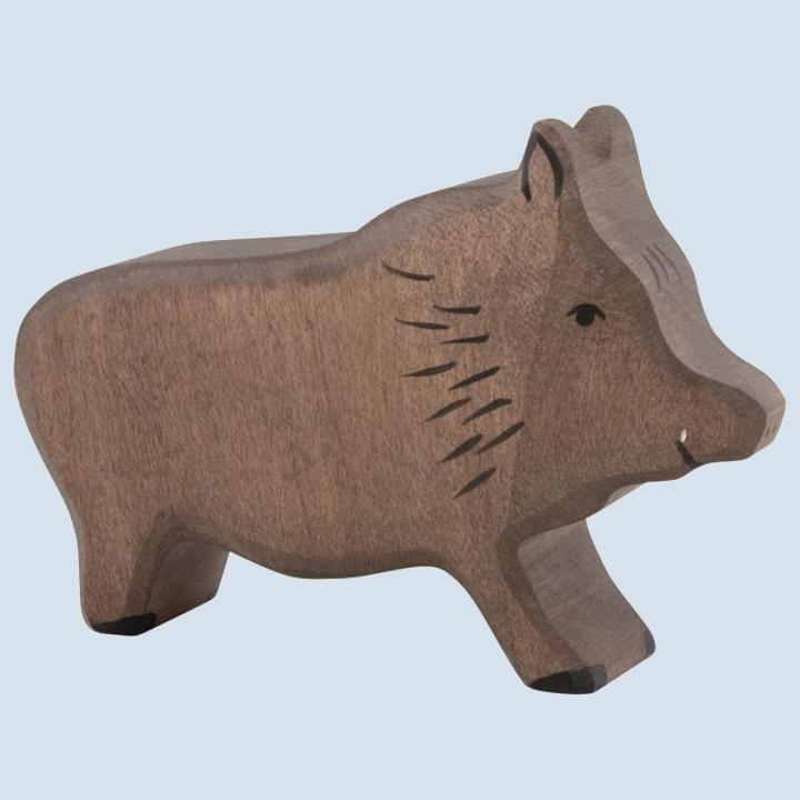 Holztiger - wooden animal - wild boar