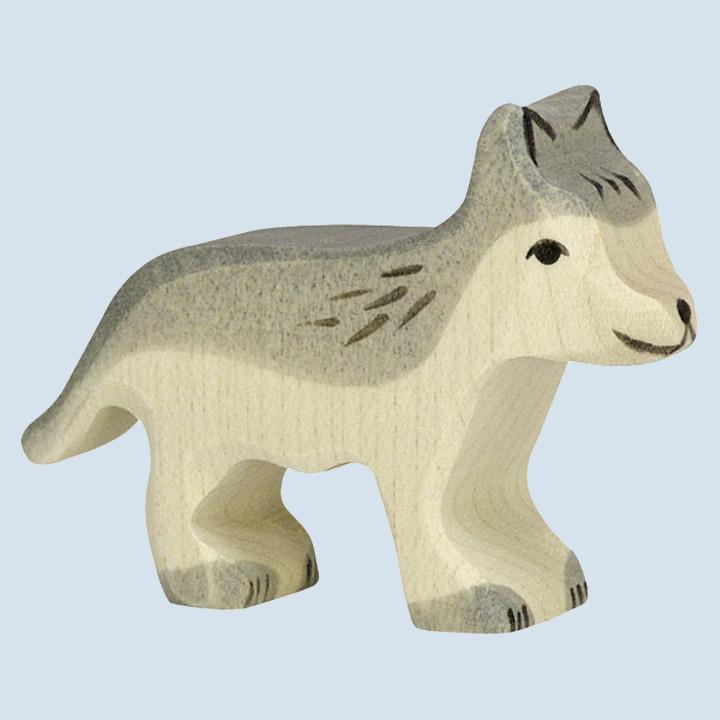 Holztiger - wooden animal - wolf
