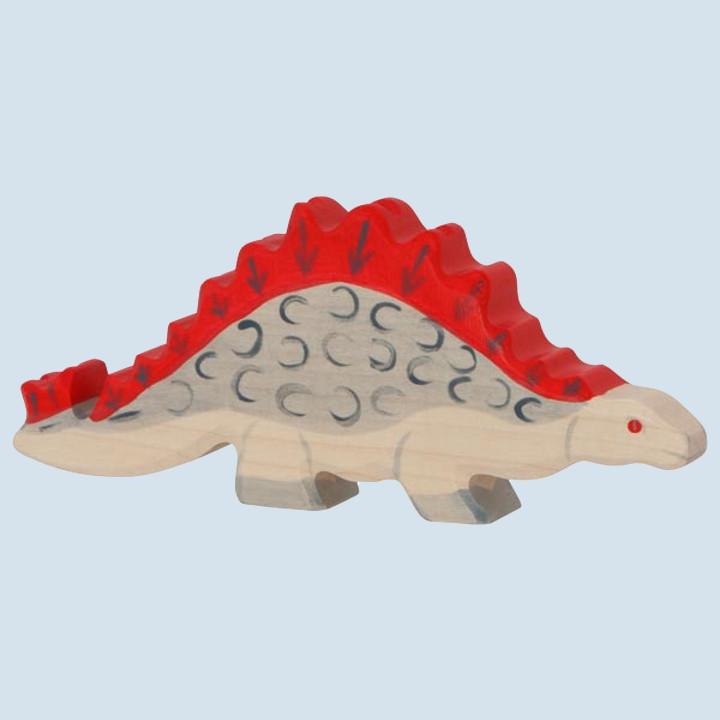 Holztiger - wooden animal - Stegosaurus