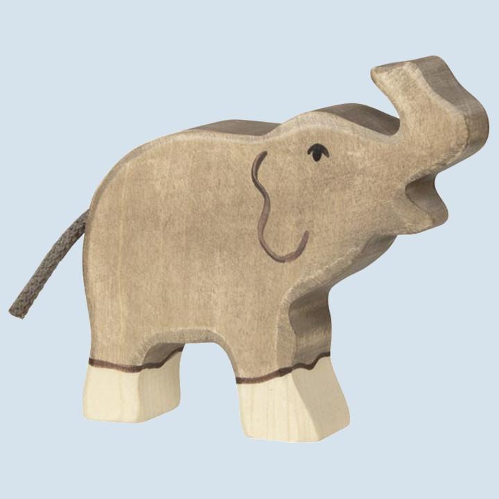 Holztiger - wooden animal - elephant, small