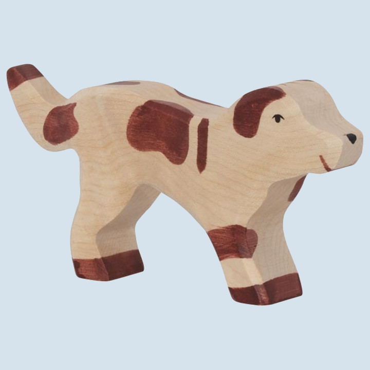 Holztiger - wooden animal - dog
