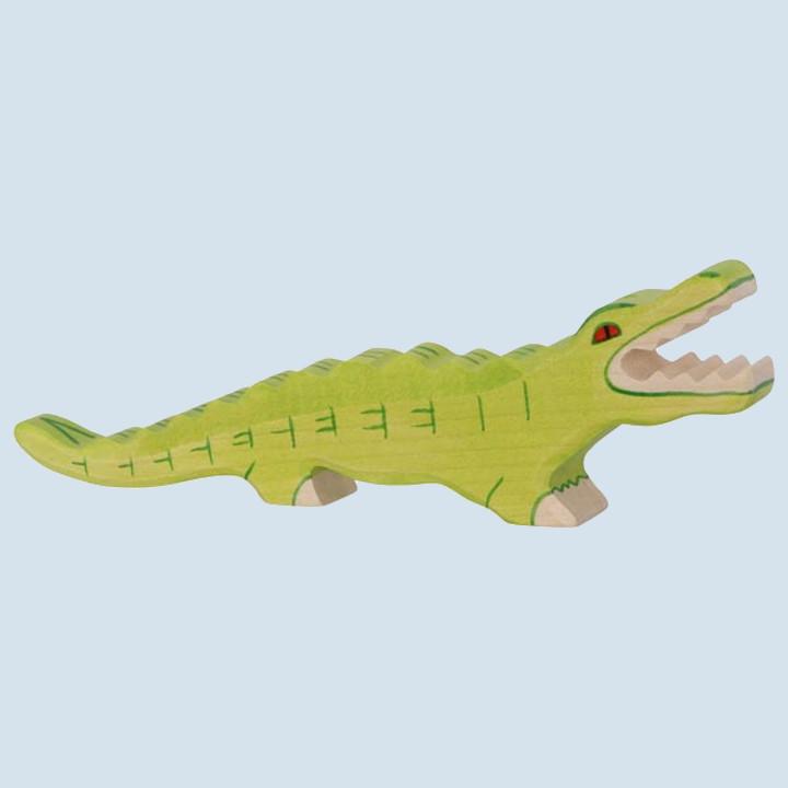 Holztiger - wooden animal - crocodile