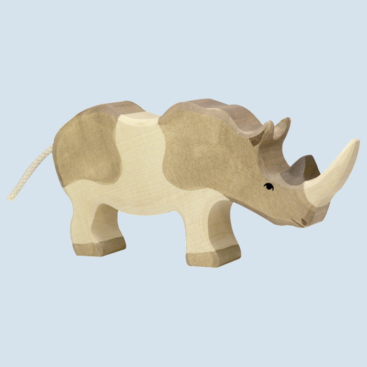 Holztiger - wooden animal - rhino