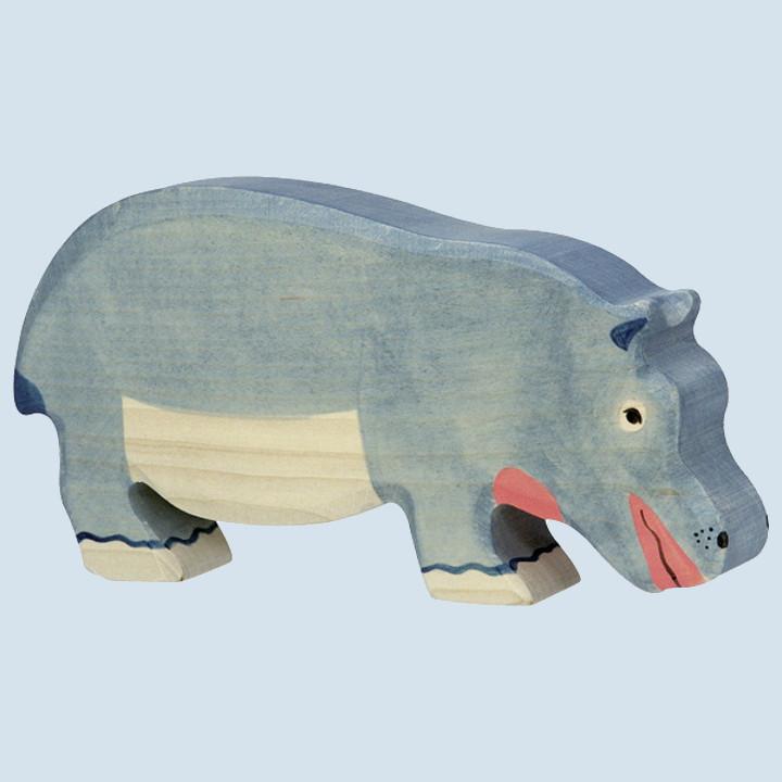 Holztiger - wooden animal - hippo