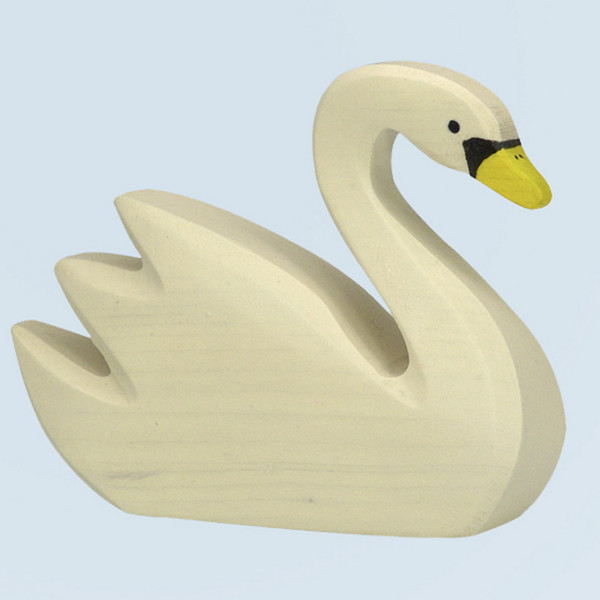 Holztiger - wooden animal - swan