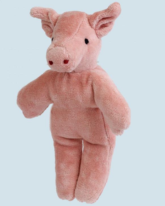 Senger Naturwelt - Kuscheltier Baby Schwein - Bio Baumwolle